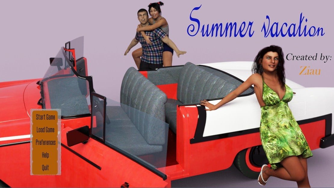 Summer Vacation – Version 0.01 - family erotic PC game 12