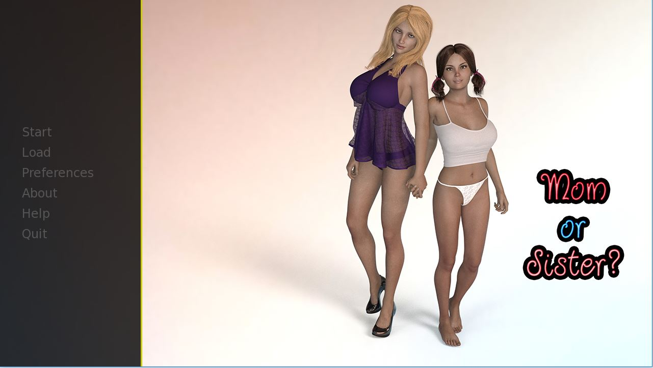 Mom or Sister – Version 0.6 - Free patreon Brother-Sister Mother-Son family erotic PC game 6