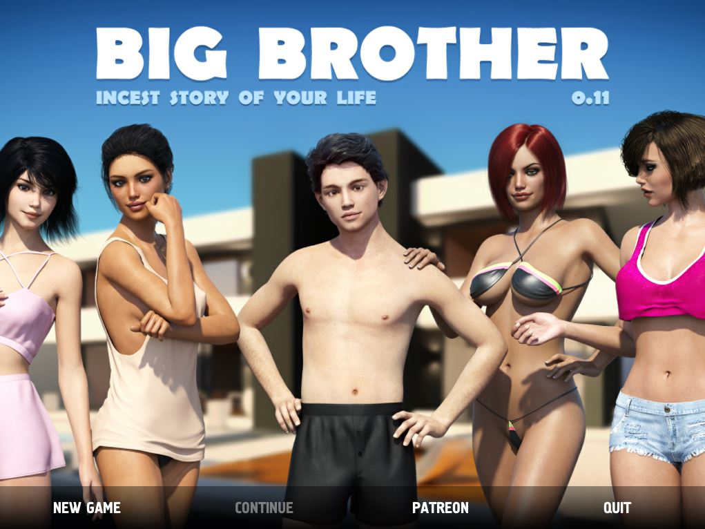 Big Brother – Version 0.13.0.007 Cracked - Patreon Brother-Sister Mom-Son family incest adult PC game 3