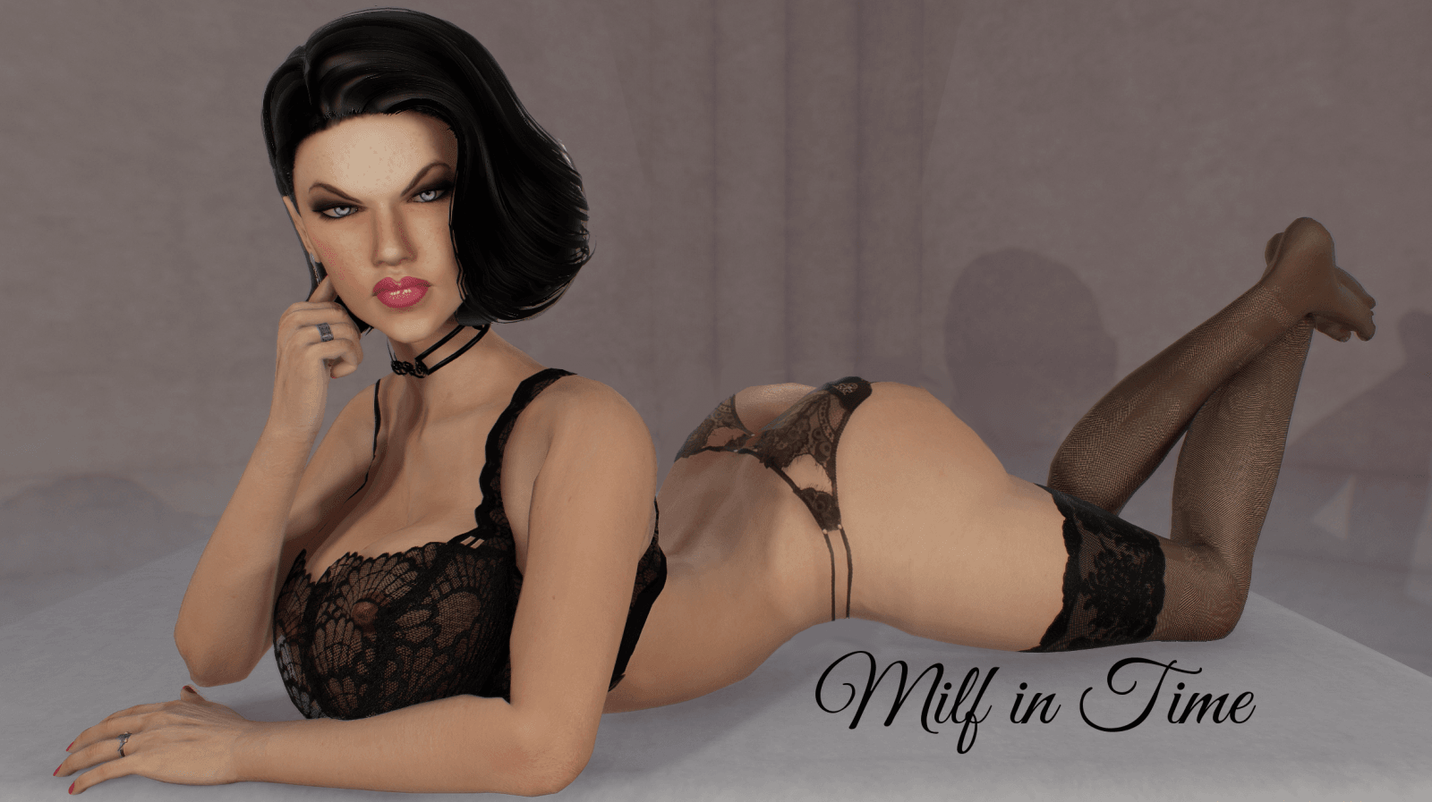 Milf in Time – Version 0.1.0 - Best Mom-Son incest sex PC game 7