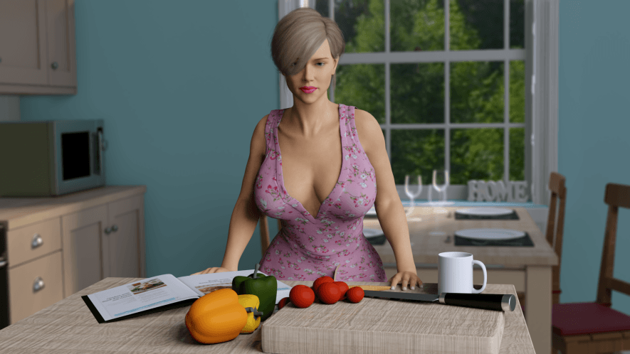 House of Seduction Remastered – Version 1 Part 1 - Patreon family incest game 1