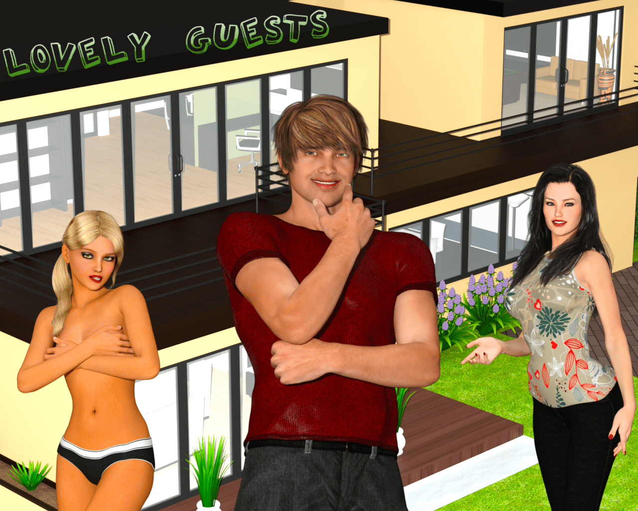 Lovely Guests – Version 0.9 - family game 3