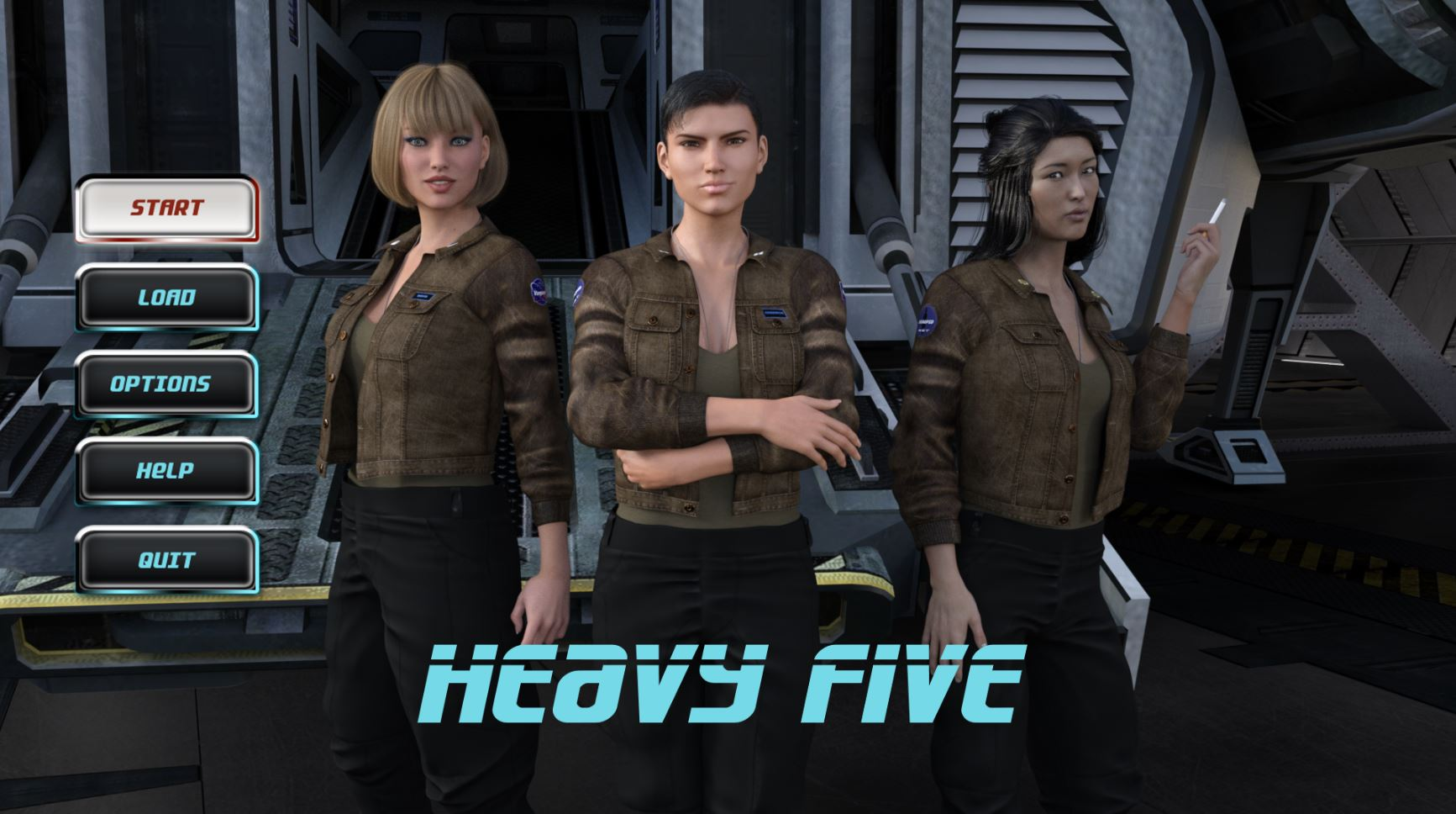 Heavy Five – Chapter 1 Remastered - Free incest hentai PC game 10