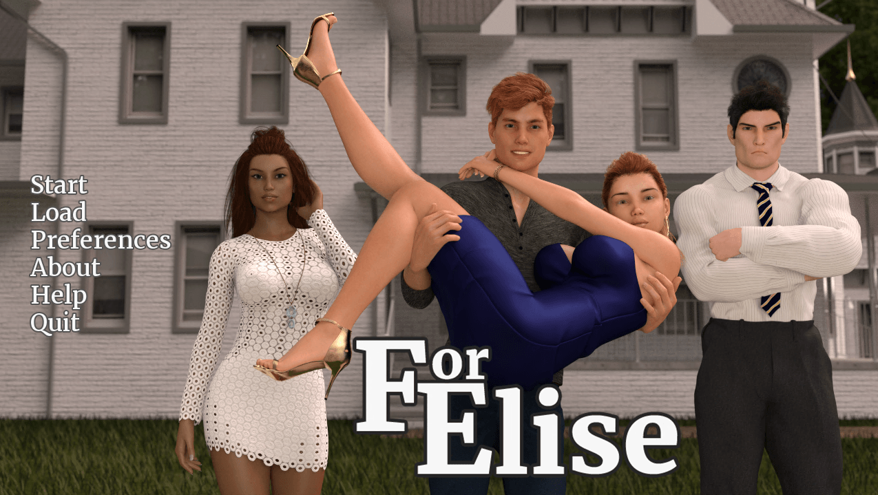 For Elise – Version 0.7 - Patreon family porn game 1