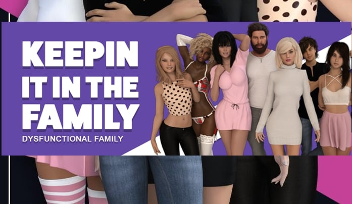 Keepin It In The Family – Dysfunctional Family – Day 4 - Patreon Brother-Sister Mother-Son family incest game 12