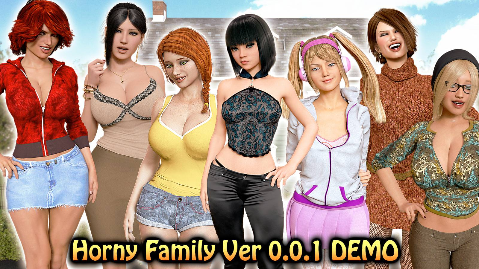 Horny Family – Version 0.0.1 - Best family incest sex game 7