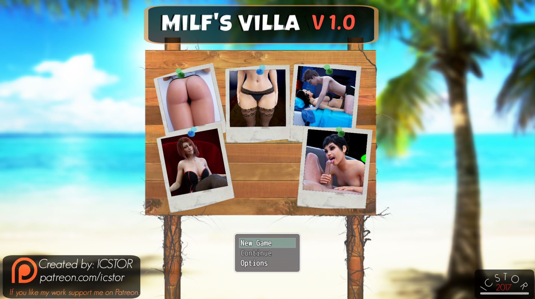 Milf's Villa – Episode 1-4 – Version 1.0 - Best Brother-Sister Mom-Son family incest game 5