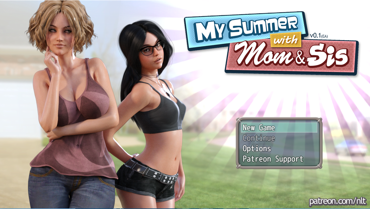 My Summer with Mom & Sis – Version 1.0 + Walkthrough - Mom-Son family erotic game 5