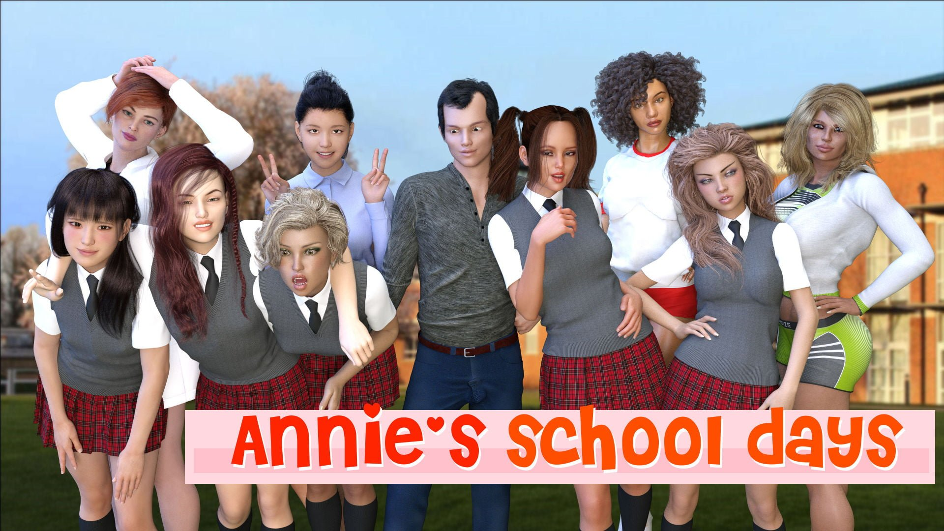Annie's School Days – Version 0.7 - Best family incest game 12