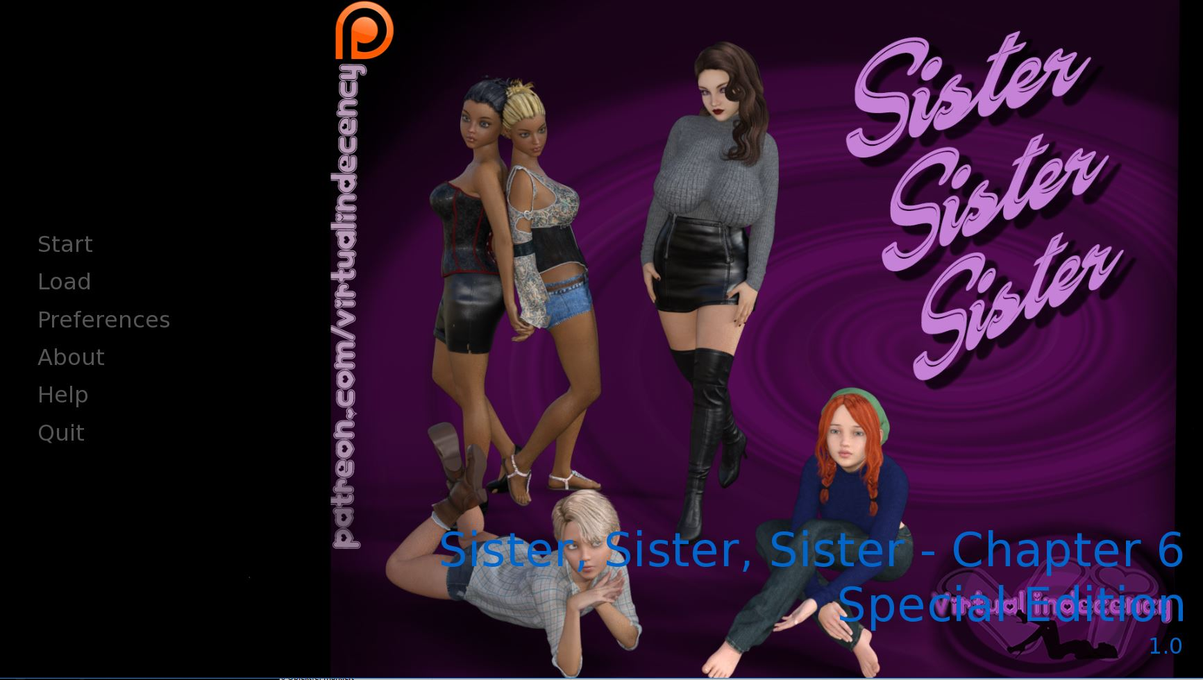 Sister, Sister, Sister – Chapter 15 SE – Completed + Walkthrough - Best family incest hentai game 5