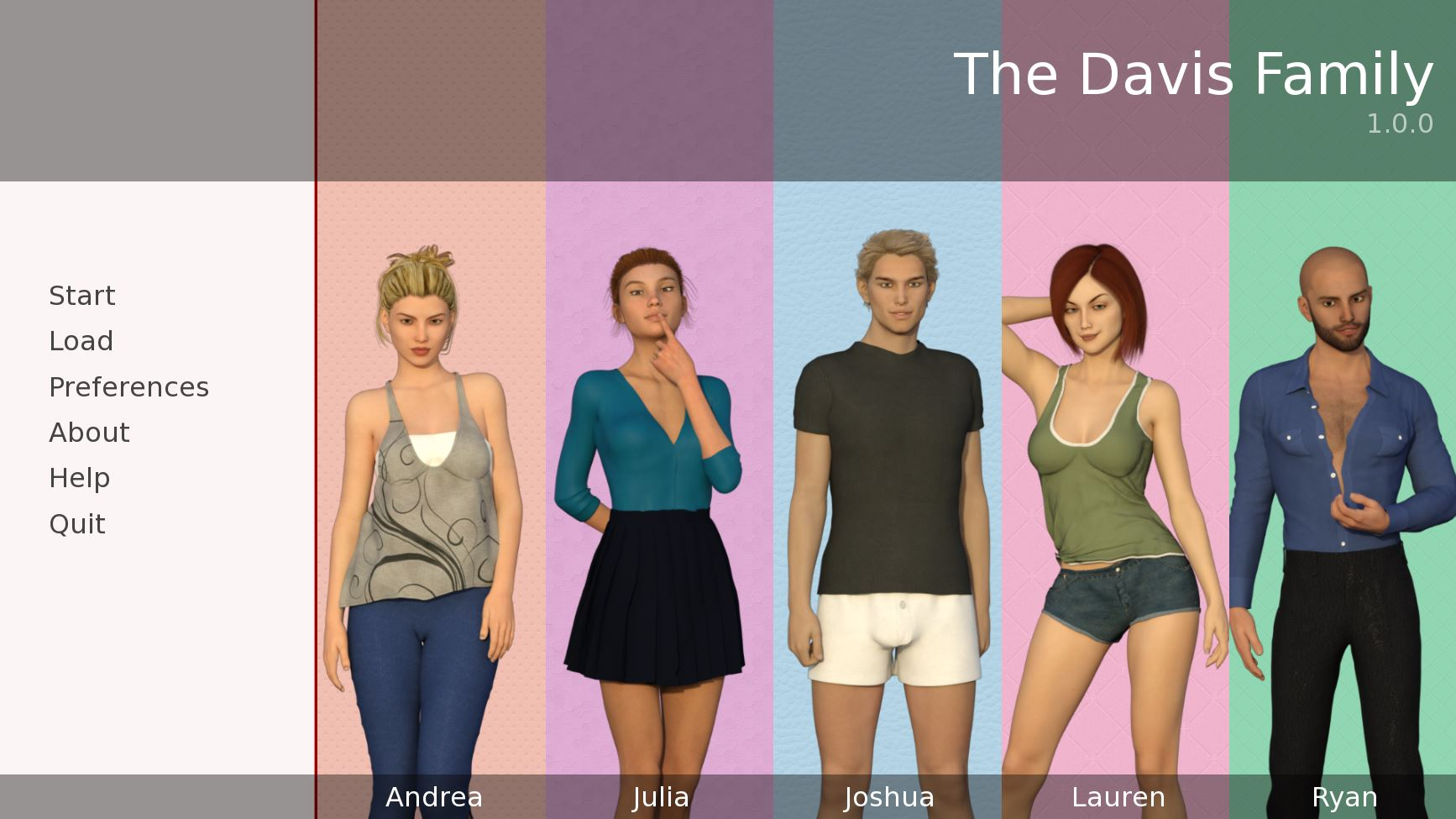 The Davis Family – Version 1.1.0 - family incest hentai game 1