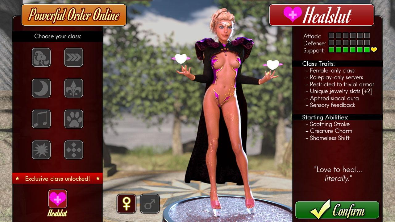 Healslut – Version 0.4f - Best incest adult PC game 4