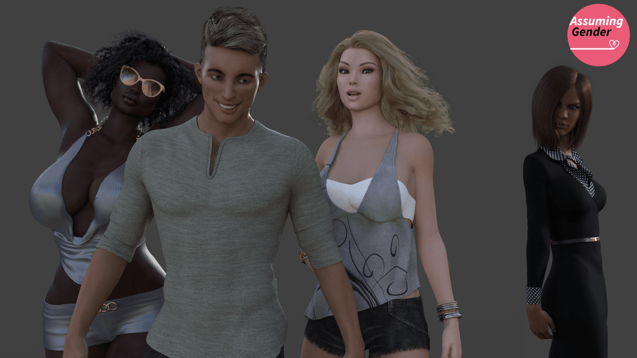 Assuming Gender – Version 0.06 - Patreon family incest sex PC game 4