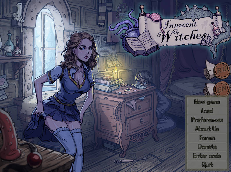 Innocent Witches – Version 0.5f - family game 1