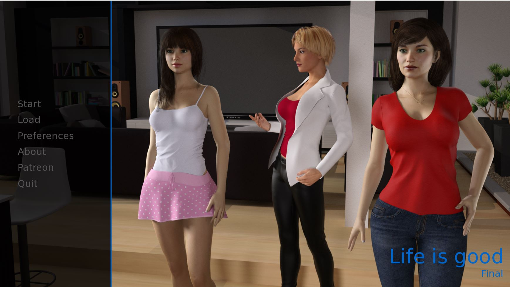 Life is Good – Final Version - Best Brother-Sister Mother-Son family incest erotic PC game 6