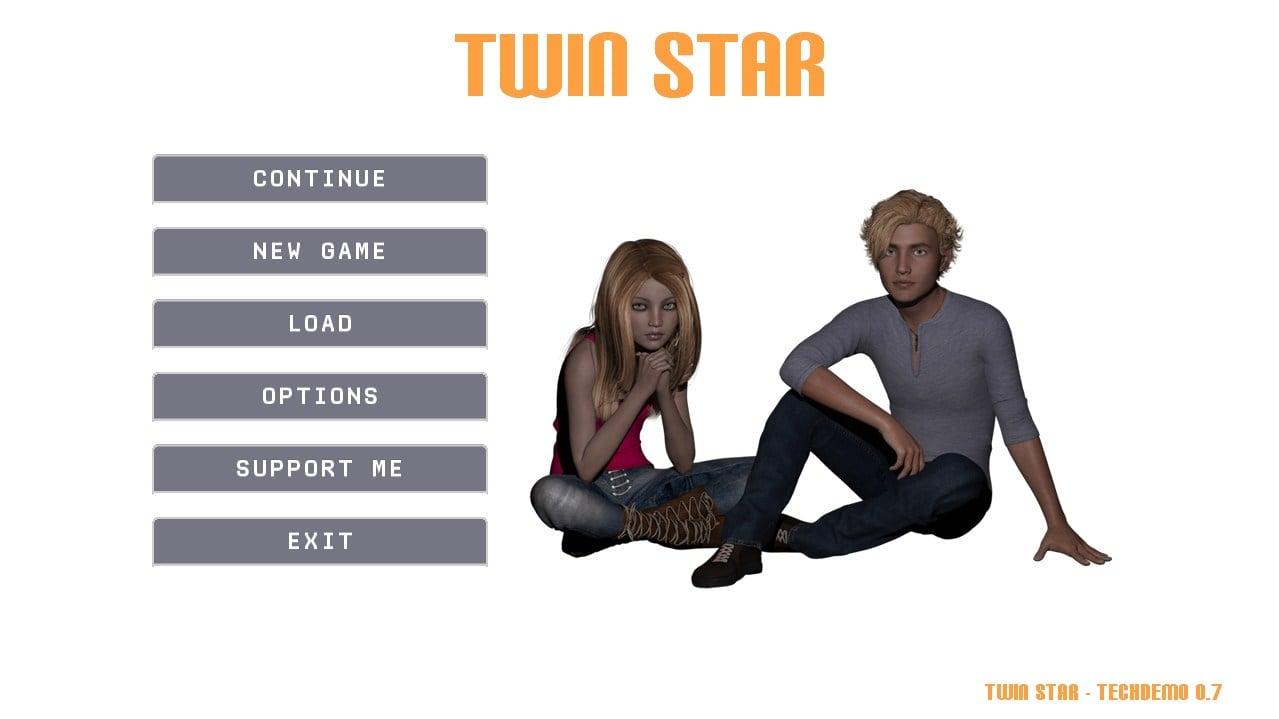 Twin Star – Version 0.7 - Brother-Sister family incest adult game 3