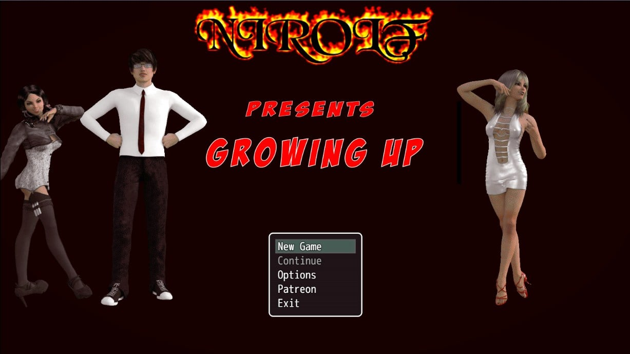 Growing Up – Chapter 1 - Patreon Brother-Sister Mom-Son family hentai game 1