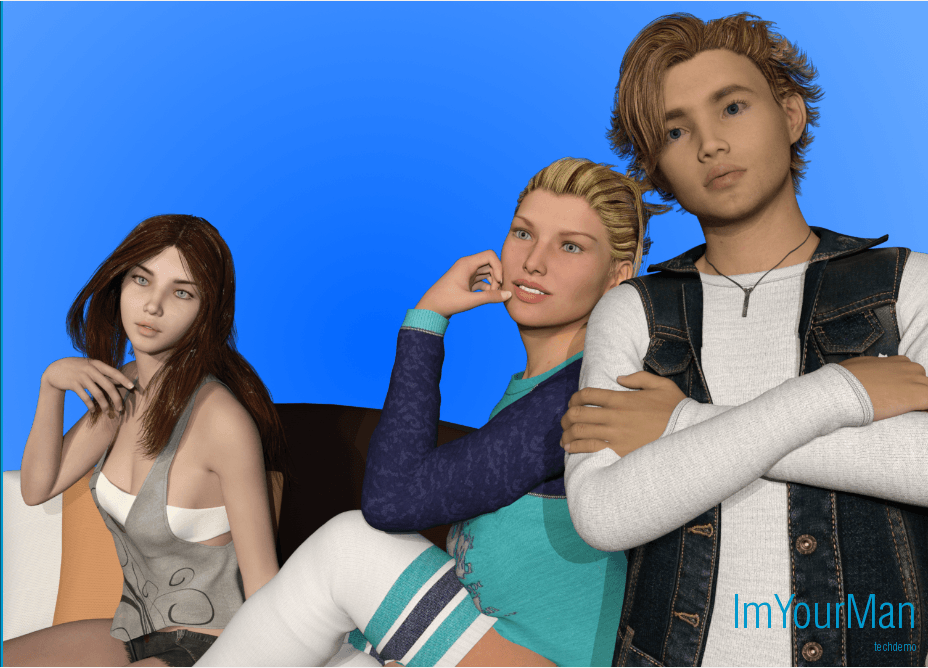 I'm Your Man – tech Demo Version - Best patreon Brother-Sister Mother-Son family game 7