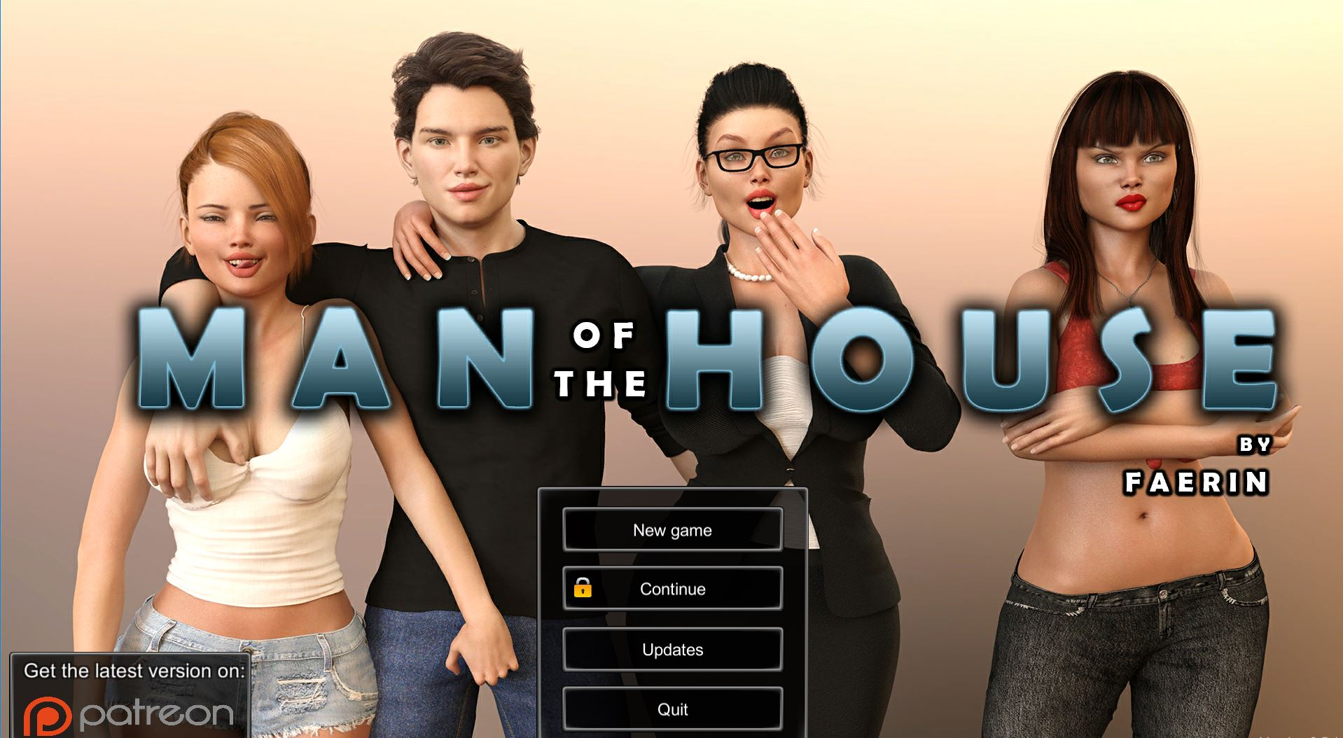 Man Of The House – Version 1.0.2 Extra - Brother-Sister Mother-Son family porn PC game 5