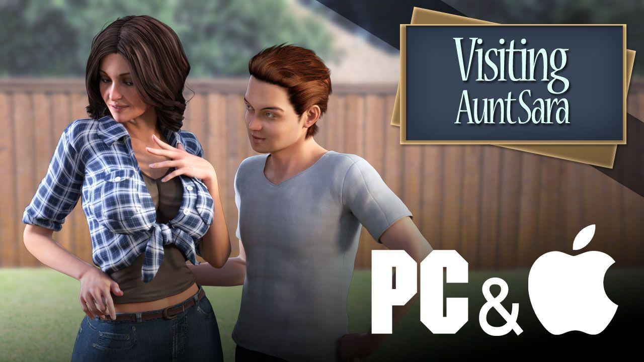 Visiting Aunt Sara – Version 1.3 - incest erotic PC game 7